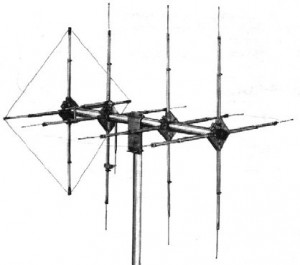 CB Base Station Antenna Tower